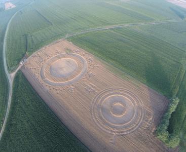 I cerchi nel grano di Castagnole opera di Alieni? No! di Francesco Grassi