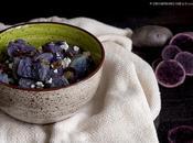 Insalata patate viola capperi, olive taggiasche feta greca
