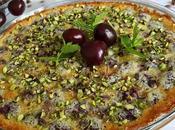 Clafoutis alle ciliegie pistacchio
