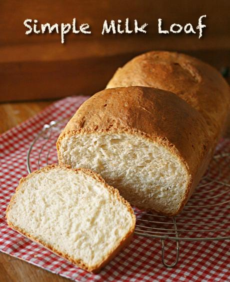 Filone semplice al latte – Simple milk loaf