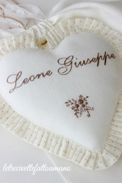 Fiocco nascita per Leone Giuseppe..
