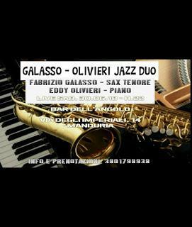Galasso-Olivieri Jazz Duo in concerto a Manduria