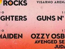 FIRENZE ROCKS 2018 Iron Maiden, Guns'n'Roses zucchette riunite