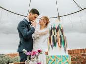 [Inspiration shoot] Idee matrimonio ultraviolet dettagli vintage