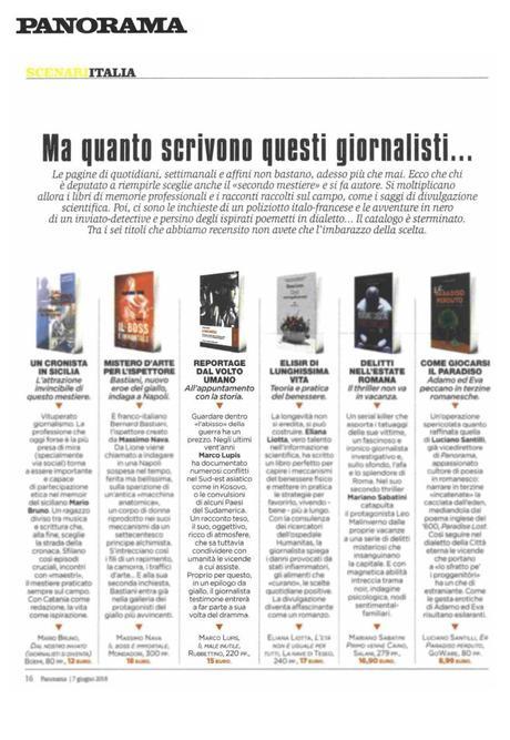 """Rassegna Stampa – Il settimanale Panorama recensisce """"il Male Inutile"""" di Marco Lupis"""