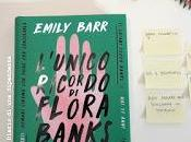 Recensione: L'unico ricordo Flora Banks, Emily Barr