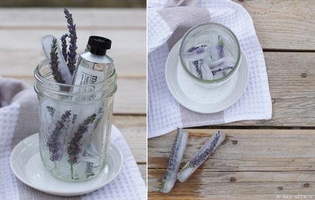Fiori, ghiaccio e i prodotti naturali di Meraki // Flowers, ice and Meraki products