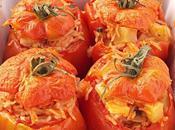 Pomodori ripieni riso, patate lupini mare