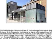 """""""Loggia Urbana"""" nella piazza della stazione Fidenza"""