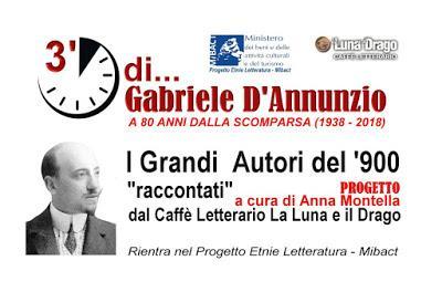 3' minuti di... Gabriele D'Annunzio