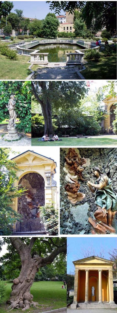 Giardini della Guastalla. Milano