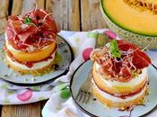 Torrette Melone, Capocollo Mozzarella