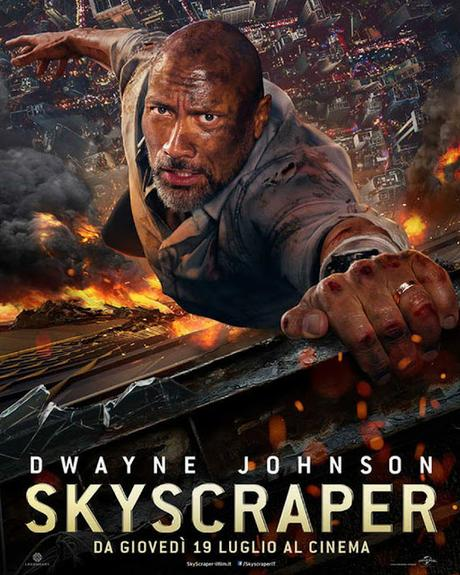 Dwayne The Rock Johnson, è il protagonista di Skyscraper