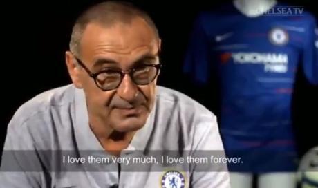 """VIDEO. Sarri commosso: """"Amerò per sempre i tifosi del Napoli"""""""