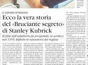 vera storia Bruciante Segreto Kubrick