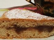 Torta- crostata cuore marmellata ciliegie chiare