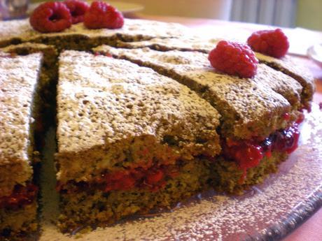 una torta Gluten free