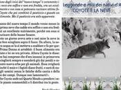 Leggenda coyote della neve.