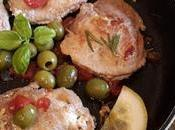 Tasche Maiale ripiene ricotta olive capperi