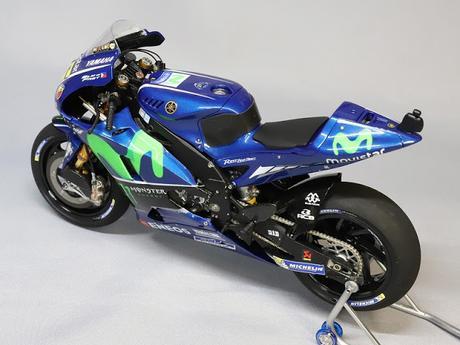 Yamaha YZR-M1 Valentino Rossi 2017 by K'S Workshop