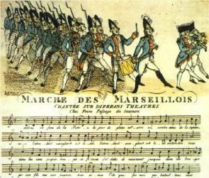 Risultati immagini per la marseillaise marche