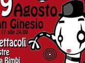 Festival Mimo Teatro gestuale, edizione Ginesio