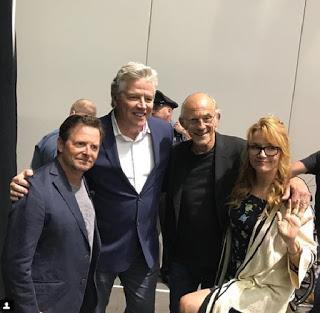 Ritorno al Futuro: Il cast riunito dopo 33 anni nella foto