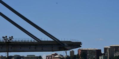 Il crollo del ponte Morandi, per punti