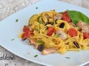 Pasta fresca ragu coniglio olive