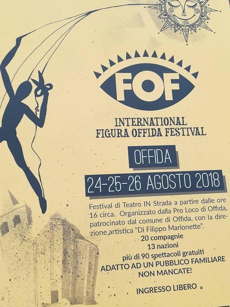 International FOF 2018: ad Offida torna il teatro di figura