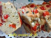 Cake salato ciliegini, feta semi zucca