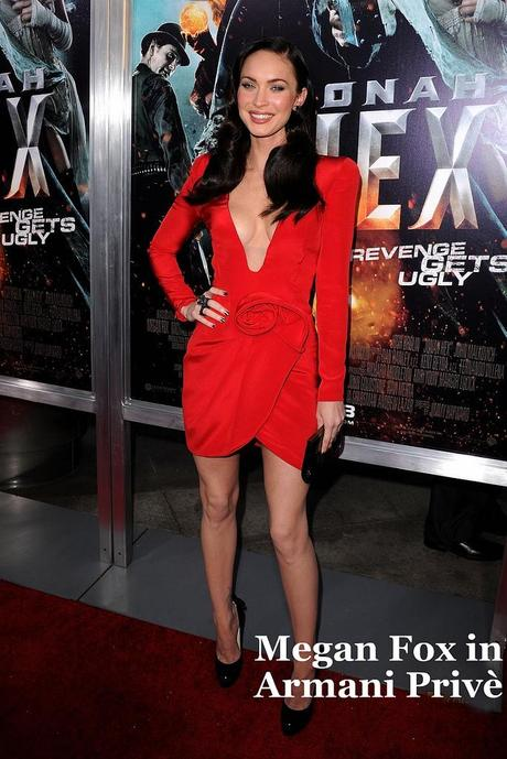 meganfox in armani privè