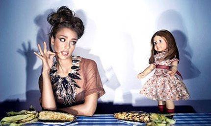 """Jessica Alba: """"Guardate che non sono una bambola!"""""""