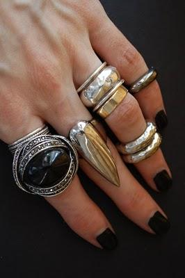 My latest obsession: Half way rings!!