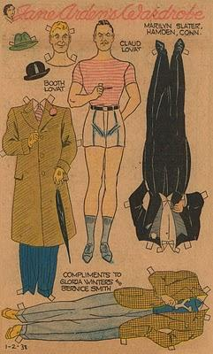 Jane Arden Paper Doll Series