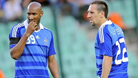 MONDIALI: CRISI FRANCIA, CACCIATO ANELKA, RIBERY IN LACRIME IN TV - WORLD CUP: CRISIS FRANCE; ANELKA SENT AWAY, RIBERY IN TEARS ON TV