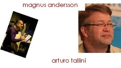 No time (at all) Magnus Andersson e Arturo Tallini in concerto 26 giugno 2010