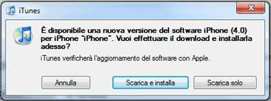 iOS 4 Apple: è già su iTunes