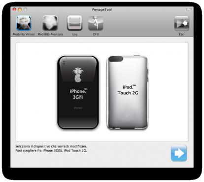 PwnageTool 4.0: Jailbreak iPhone 3G iPhone 3Gs iPod Touch 2G iOS4 su MAC