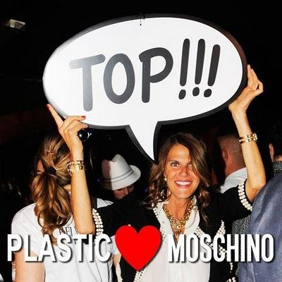 Paolo, Anna e Bryanboy al Moschino Party by Plastic
