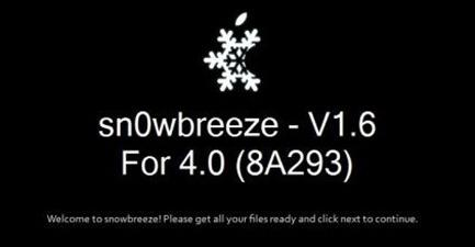 Guida: Jailbreak iPhone 3G / 3GS iOS 4.0 su Windows (Sn0wBreeze)