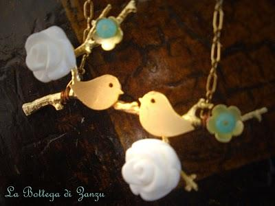 ♥♥♥Birds in love Necklaces♥♥♥