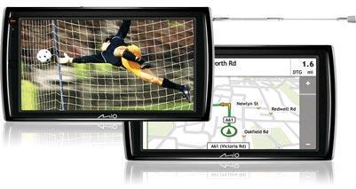 Mio Technology propone navigatori con TV integrata