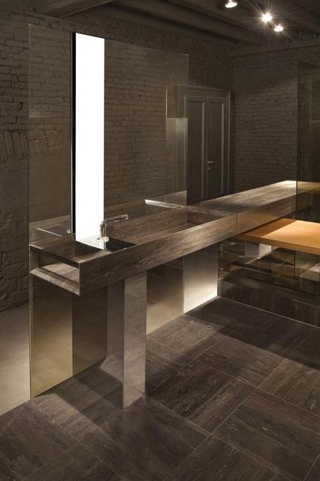 Soluzioni per il bagno lithoverde la pietra naturale di - Pietra per bagno ...