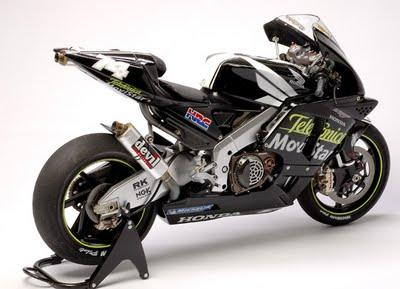Honda RC 211V D.Kato Test 2003 by Utage Factory House