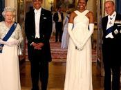 Barack Michelle Obama Ford dalla Regina Elisabetta