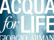 """I'iniziativa benefica Giorgio Armani """"Acqua Life"""""""
