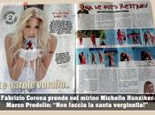 """Marco Predolin attacca Michelle Hunziker nuovo settimanale Fabrizio Corona: """"Non faccia santa verginella"""""""