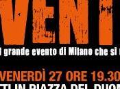 Grande festa Milano chiusura della campagna elettorale Pisapia.