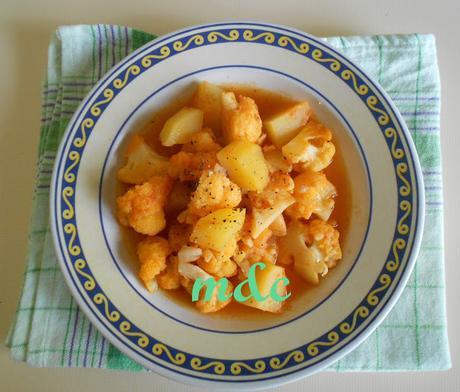 Zuppa di Cavolfiore e Patate in pentola a pressione